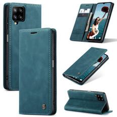 CaseMe Samsung Galaxy A12 Classic PU Leather Folio Case Cover A125