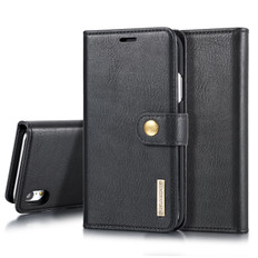 iPhone XR Detachable Classic Wallet PU Leather Case Cover Apple