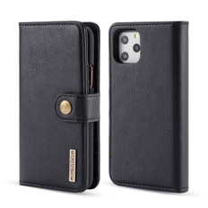 iPhone 11 Pro Detachable Classic Wallet PU Leather Case Cover Apple