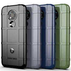 Shockproof Case For Nokia 3.4 Heavy Duty Soft Tough Cover Grid Style