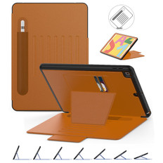 Shockproof iPad 10.2 2021 PU Leather Case Cover Card Slots Apple Kids
