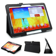 Samsung Galaxy Note 10.1(2014) P600 P605 Leather Case Cover 10 inch