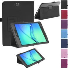 "Samsung Galaxy Tab A 9.7"" T550 T555 Folio Leather Case Cover TabA"