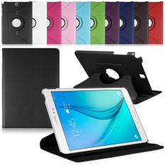 "Samsung Galaxy Tab S2 8.0"" T710 T715 360 Rotate Leather Case Cover 8"""
