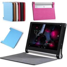 "Lenovo Yoga Tab 3 8 Folio Leather Case Cover 8.0"" inch 850F 8'' Tablet"