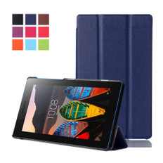 """Lenovo Tab 3 A7-10 7"""" Tablet Leather Case Cover Tab3 TB3-710F 7 inch"""