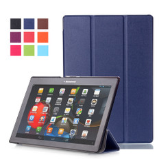 """Lenovo Tab 2 A10-30 10.1"""" Tablet Smart Leather Case Cover A10-30F Tab2"""