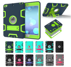 Stylish Shockproof iPad mini 4 Case Cover Heavy Duty 3-in-1 Kids Apple