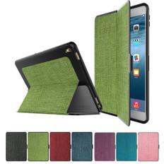 Slim Fabric iPad 2 3 4 Smart Case Cover Apple iPad2 iPad3 iPad4