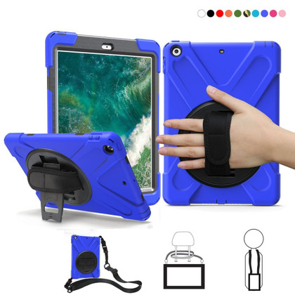 Heavy Duty Hand Strap iPad Mini 1 2 3 Apple Shockproof Case Cover