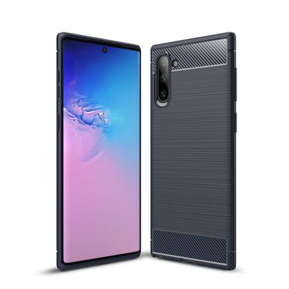 Slim Samsung Galaxy Note10 Carbon Fibre Soft Case Cover Note 10