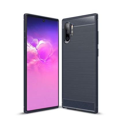 Slim Samsung Galaxy Note10+ Carbon Fibre Soft Case Cover Note 10+ Plus