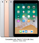 Compatible model: Apple iPad 9.7-inch (a.k.a. iPad 6th Gen, released in Mar 2018). (1)