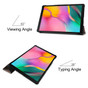 Samsung Galaxy Tab A 10.1 2019 PU Leather Case Cover T510 T515 inch