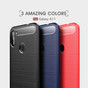 Slim Samsung Galaxy A11 2020 Carbon Fibre Soft Carbon Case Cover A115