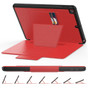 Shockproof iPad 10.2 2019 PU Leather Case Cover Card Slots Apple Kids