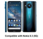 Compatible model: Nokia 8.3. (1)