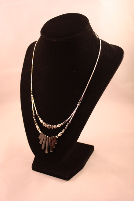 Native American Jewelry ~ Hematite Necklace