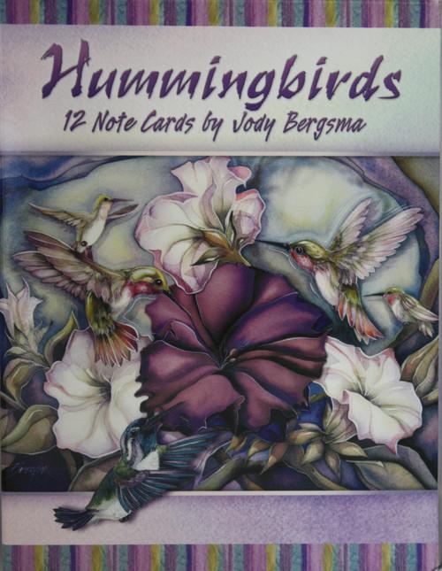 Hummingbirds Mini Card Assort.
