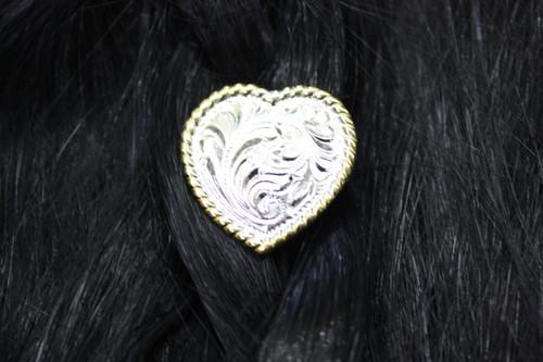 Pony Tail Holder - Heart