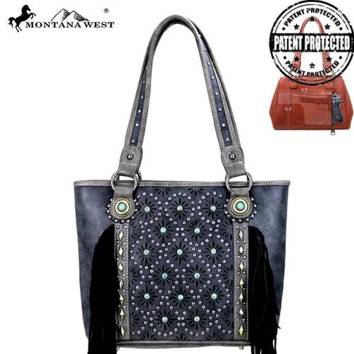 Fringe Collection Tote Bag - Black