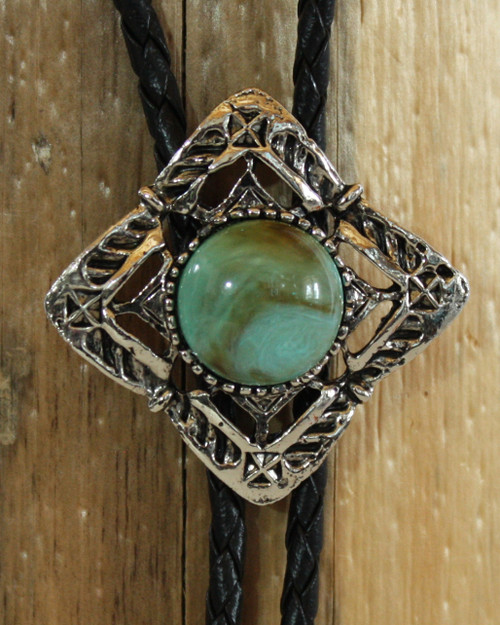 Turquoise Inlay Bolo