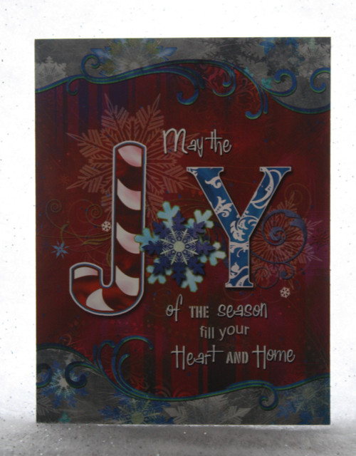 May the Joy....Christmas Card