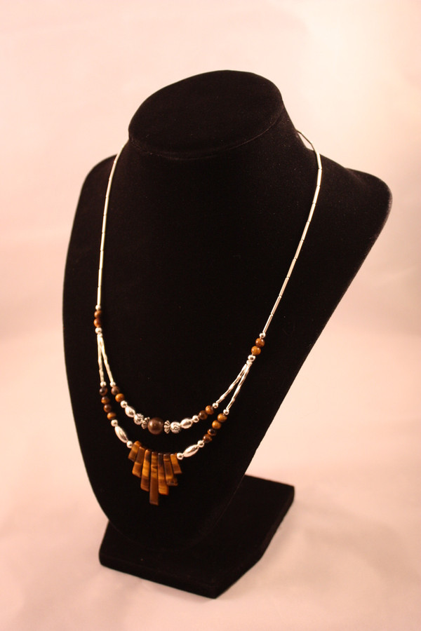 Native American Jewelry ~ Tigers Eye Necklace
