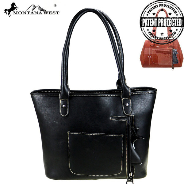 Concho Collection Handbag - Black