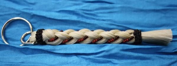 Horse Hair Key Chain, Blonde