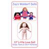 """13"""" Little Love Doll Pattern"""