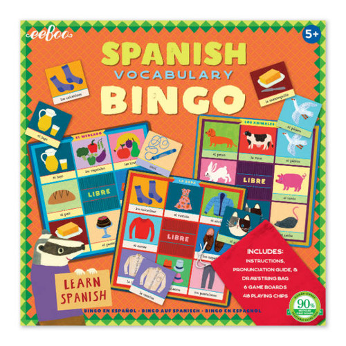 Eeboo Spanish Bingo Game