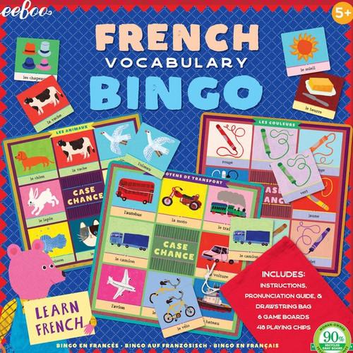 Eeboo French Bingo Game