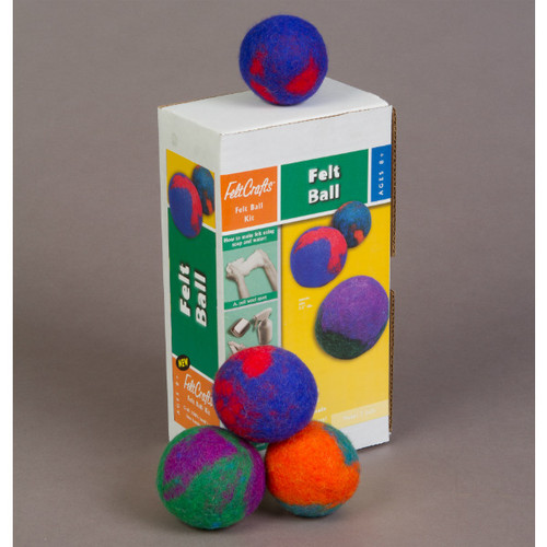 Wet Felting Kit - Felt Balls