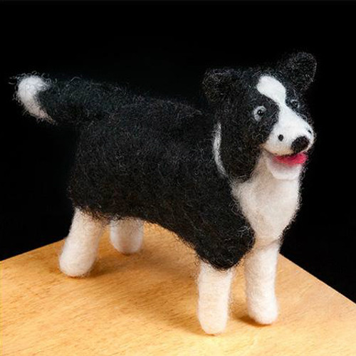 Woolpets Border Collie Needle Felting Kit