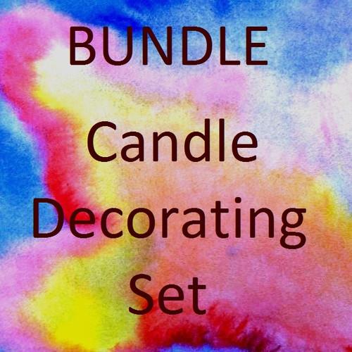 Candle Decorating Set
