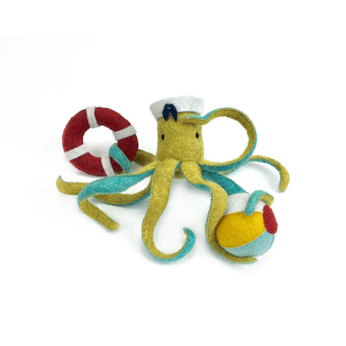 Felt Sewing Kit - Octopus