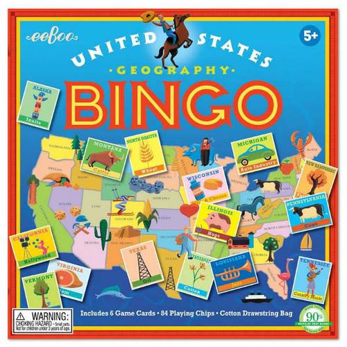 United States Geography Bingo