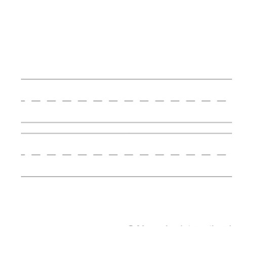 Handwriting Practice Book - Black + White Lines
