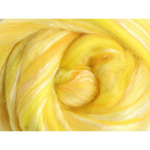 Ashford Silk Merino Fiber - Citrus