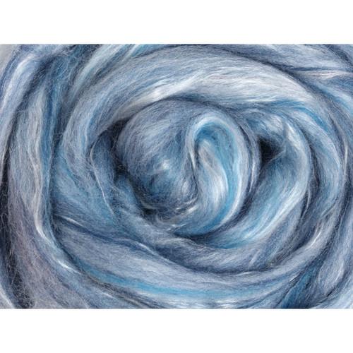 Ashford Silk Merino Fiber - Skyscape