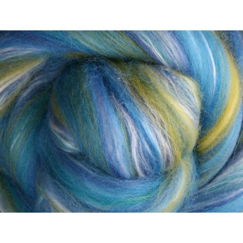 Ashford Silk Merino Fiber - Salvia