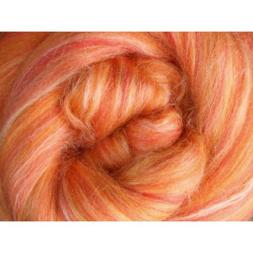 Ashford Silk Merino Fiber - Saffron