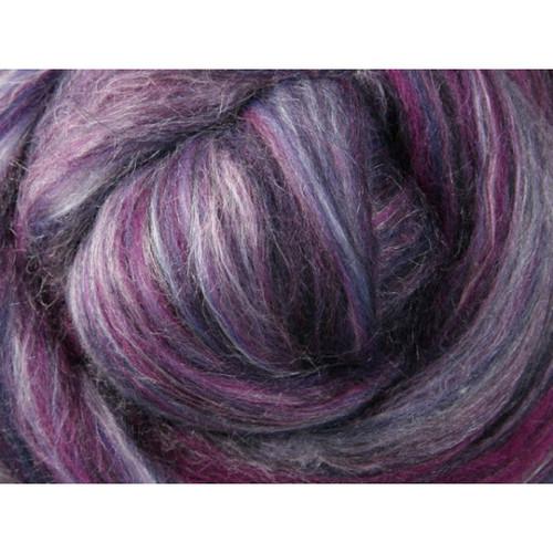 Ashford Silk Merino Fiber - Mulberry