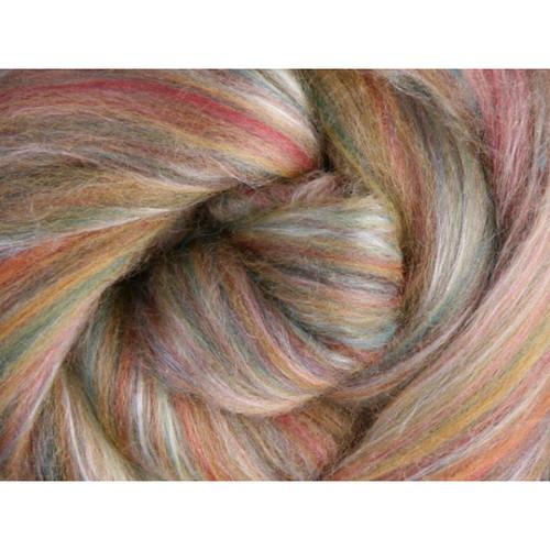 Ashford Silk Merino Fiber - Cinnamon