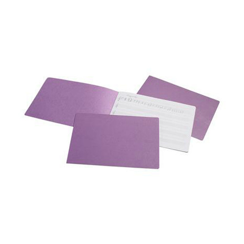 Music Book , Purple Flat Bound- Regular Staffs