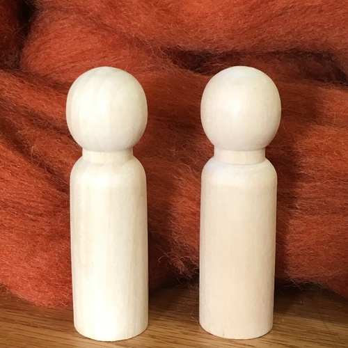 Gnomekin Sized Peg Dolls (Pair)