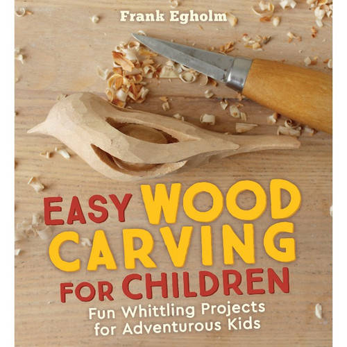 Easy Wood Carving For Children - Book