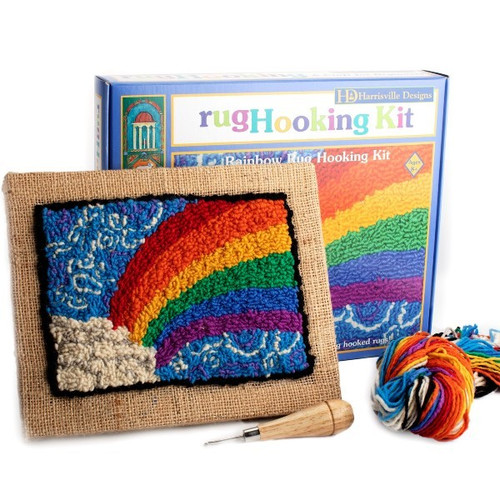 Rainbow Rug Hooking Kit