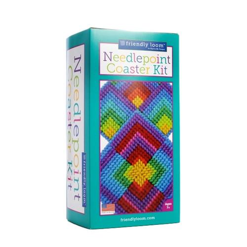 Needlepoint Coaster Kit